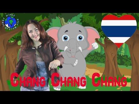 ช้าง | Chang Chang | Thai Elephant Song | World Kids Action Songs