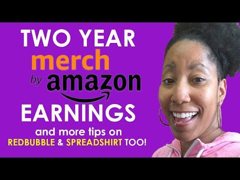 Almost $100,000 in 2 Years on Merch By Amazon & More