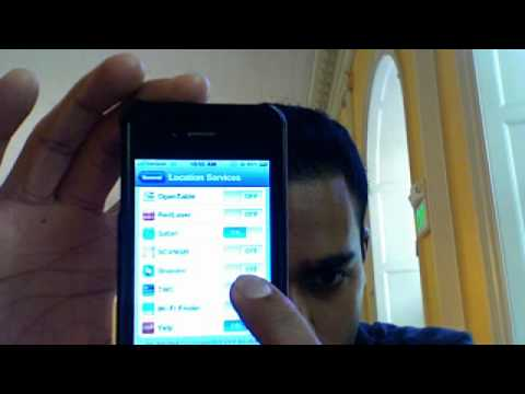 how to undisable an iphone 4 disable and enable location services on iphone 4 verizon 19189