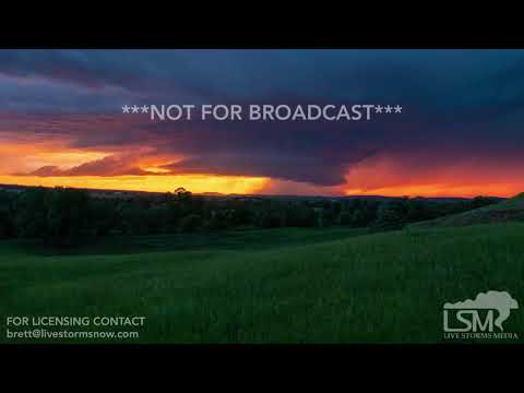 06-25-2019 Spearfish, SD - Tornado Warned Supercell Sunset