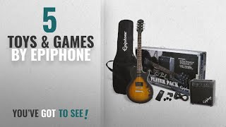 Top 10 Epiphone Toys & Games [2018]: Epiphone Les Paul Electric Guitar Player Package, Vintage