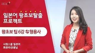 [ 왕초보 팁 6강 ] 헷갈리는 な형용사 정리 - 최유…