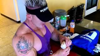 Andy Haman DYMATIZE Big Boy Nutrition!