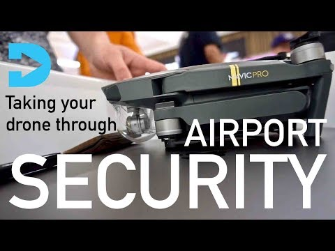 HOW TO TRAVEL WITH YOUR DRONE - Going Through Airport Security