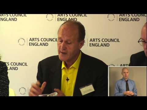 Sir Peter Bazalgette: Arts Council investment 2015-18