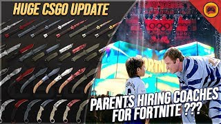 "Esports News | Parents Pay For Fortnite Lessons? HUGE CSGO Update, Valve Talks ""Bugs"", Piglet, MiBR"