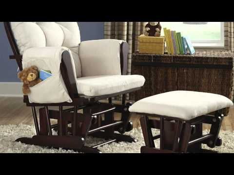 Review - Stork Craft Hoop Glider and Ottoman Set, Rocking Chair