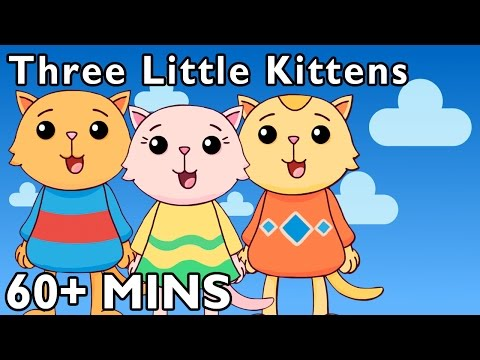 three-little-kittens-and-more-|-nursery-rhymes-by-mother-goose-club-playhouse!