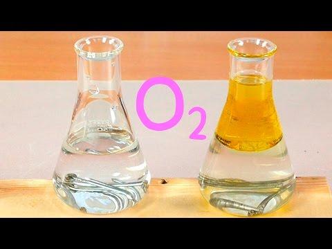 Oxidación y Oxígeno Disuelto en Agua. EXPERIMENTO.