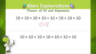 Exponents 1 - 5th Grade - Education Galaxy