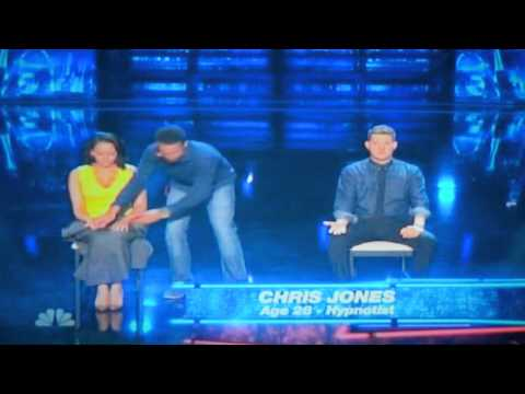 America's Got Talent: Hypnotist Chris Jones Judge Cuts Snippet