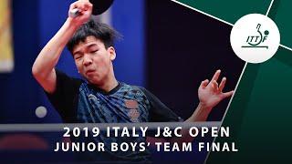 Артем Тихонов vs Xiang Peng | Italy J&C Open 2019 (JBT Final)
