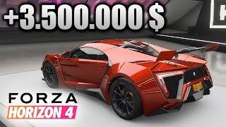 Me gasto +3.500.000 $ en el Lykan Hypersport! +Broma final a mi padre   Forza Horizon 4   BraxXter
