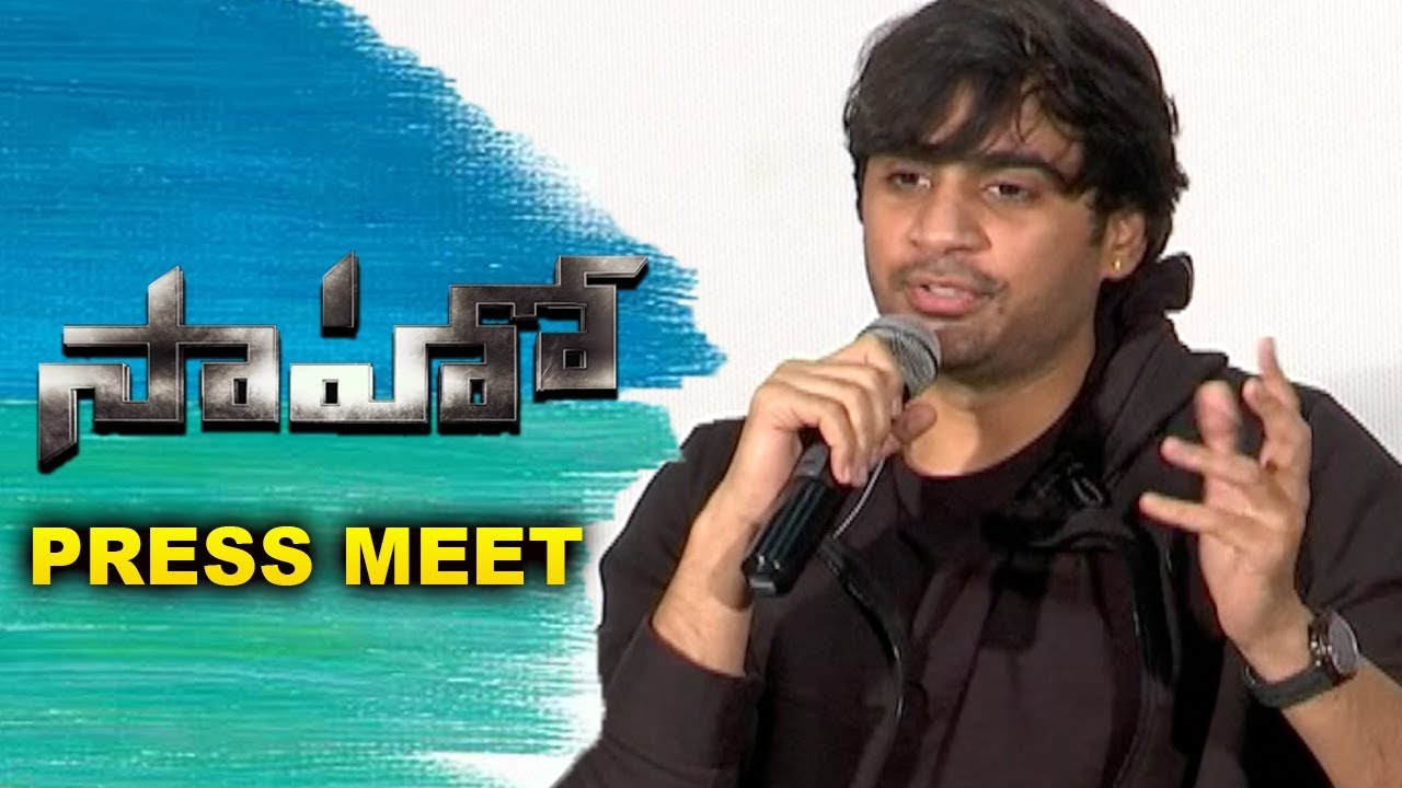 sergeant sneaky saaho movie press meet prabhas shraddha kapoor sujeeth bhavani hd movies sergeant sneaky blogger