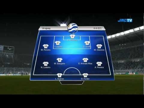 FIFA 12 - RTWC Japan 2012 - Uruguay vs. Brazil