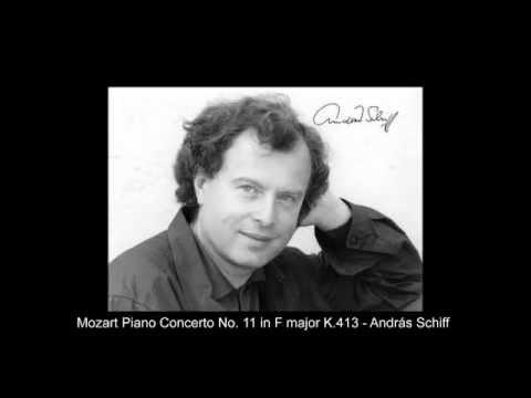 Mozart Piano Concerto No  11 in F major K 413   András Schiff
