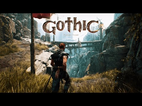 Gothic Playable Teaser vs. Gothic - Comparison Video