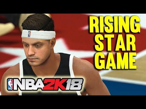 RISING STAR ALL STAR GAME - NBA2k18 Season 2 MyCareer #19
