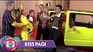Mewah!! Baim Wong Beri Hadiah Mobil Untuk Ulang Tahun Pertama Kiano! | Kiss Pagi 2020