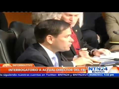 Marco Rubio preguntó a director de CIA si la posibilidad de que Nicolás Maduro armas a las FARC