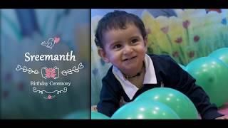 First Birthday Video  1st Birthday Teaser    Sreemanth Birthday Teaser