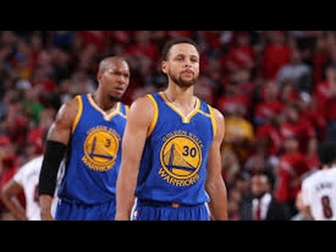 Golden State 128 Portland 103 Warriors Sweep - NBA Western Conference Round 1 Playoffs
