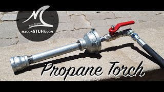 Propane Torch Upgrade for my Forge
