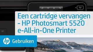Een cartridge vervangen - HP Photosmart 5520 e-All-in-One Printer