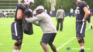 Penn State Football 2014: Inside Training Camp - Defensive Line
