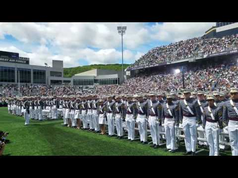 """The """"Army Song"""" at USMA, Happy Birthday to US Army!"""