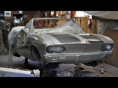 1965 Chevrolet Corvair Corsa Convertible Restoration Project