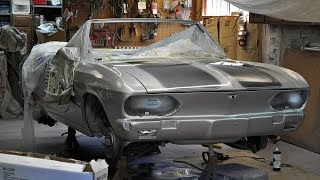 1965 Chevrolet Corvair Corsa Convertible Restoration Project