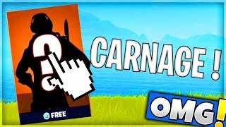 I'm doing a CARNAGE GRACE TO THIS SKIN! Fortnite Battle Royale