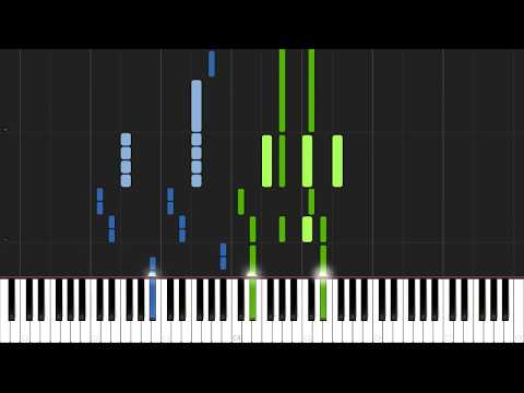 Mr. Brightside - The Killers [Piano Tutorial] (Synthesia) // Mr.Meeseeks Piano