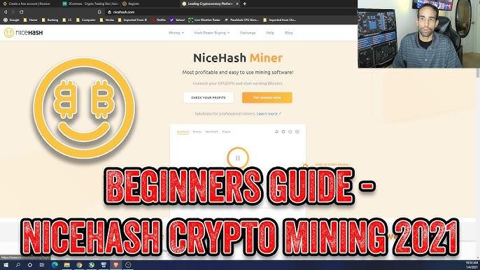 Wie man Bitcoin von NiceHash Miner abzieht
