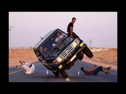 CRAZY CAR STUNTS IN SAUDI ARABIA