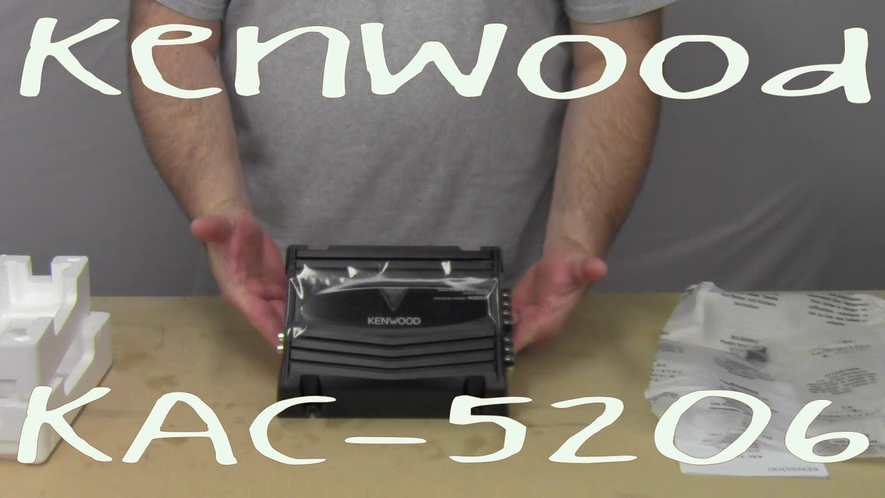 maxresdefault kenwood kac 5206 out of the box youtube Old-Style Kac 5206 Amp at eliteediting.co