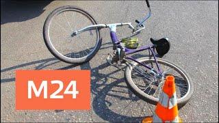 Смотреть видео Велосипедистку хотят лишить автомобильных прав из-за ДТП - Москва 24 онлайн