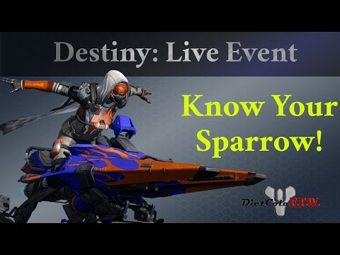 Destiny: Drivers Ed - Tips, Tricks and Stats for Choosing Your Sparrow in SRL! Sparrow Racing League