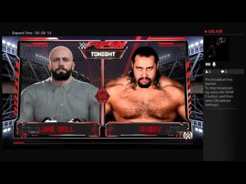 A lot of fun in WWE 2K16