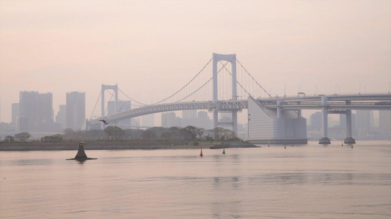Мост-динозавр Tokyo Gate Bridge / Токио | 720x1280