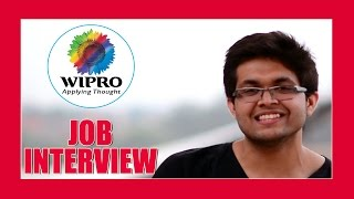 job interview videos for freshers in india wipro