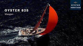 Oyster 825 Maegan at Loro Piana Caribbean Superyacht Regatta 2016