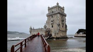 Португалия: Лиссабон, башня Белем c Владимиром Волошиным