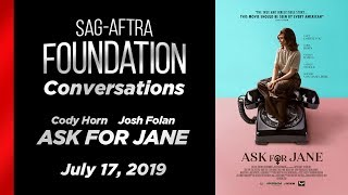 Conversations with Cody Horn  & Josh Folan of ASK FOR JANE