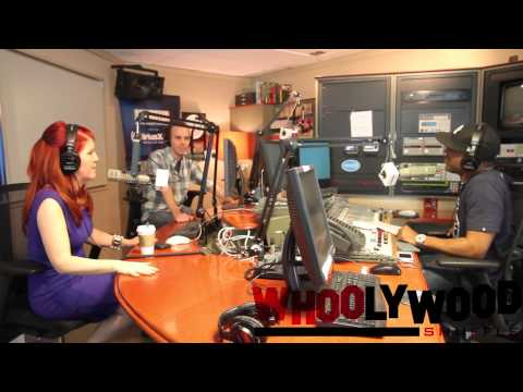THE OFFICE  KATE FLANNERY vs DJ WHOO KID on the WHOOLYWOOD SHUFFLE