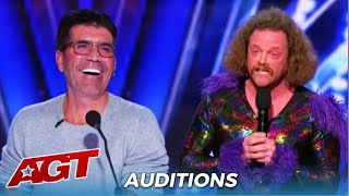 Alex Hooper: Nasty Comedian Who Got Kicked Off After INSULTING The Judges is BACK For More Insults!