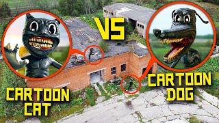 Серия 6 - МОЙ ДРОН СНЯЛ CARTOON DOG напал на CARTOON CAT! **картун дог существует**