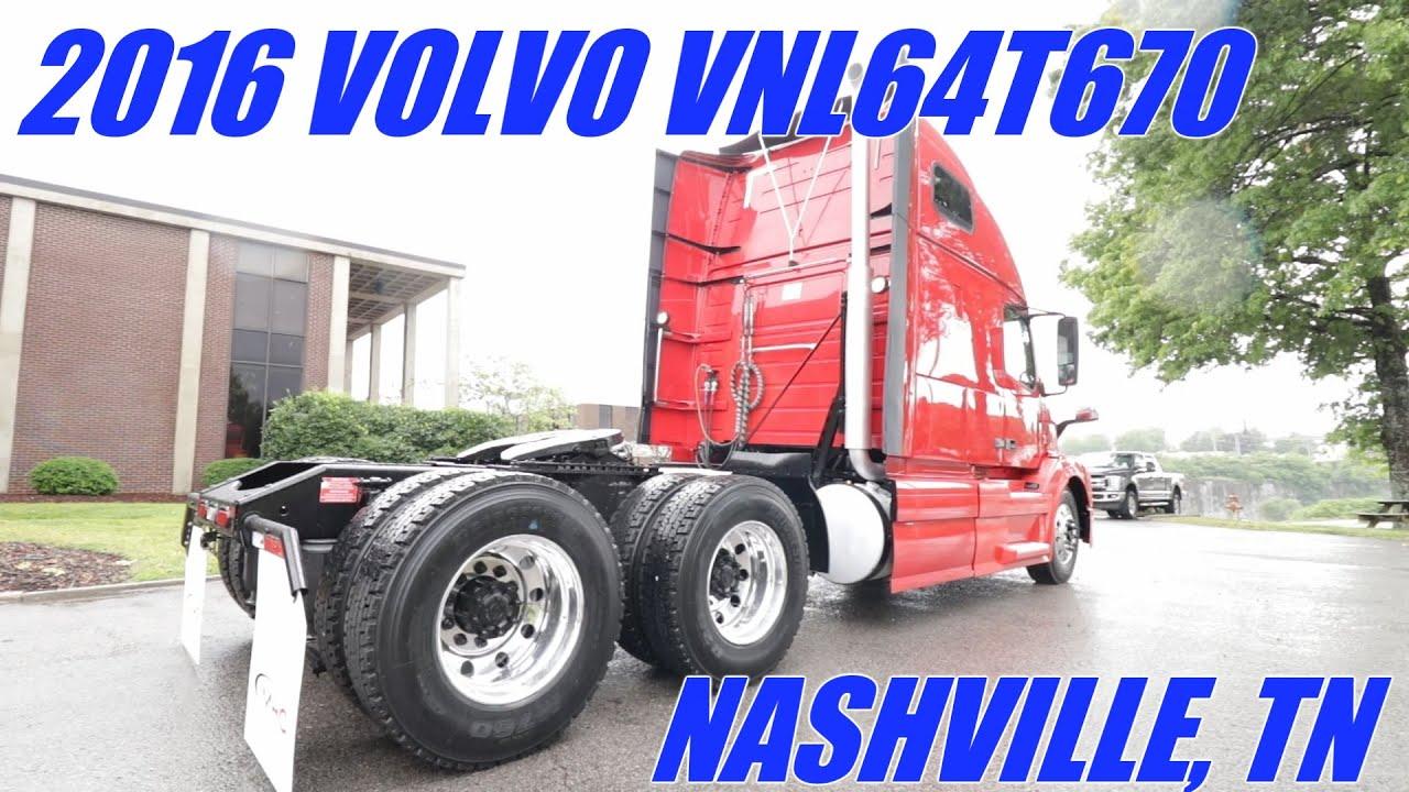 2016 Volvo VNL64T670 - UNDER 316k MILES!