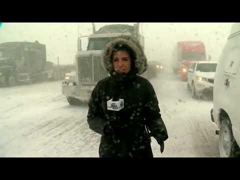 Blizzard shuts down I-70 east of Denver to Kansas